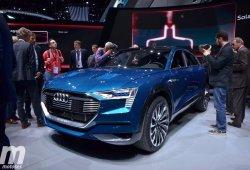 Audi e-tron, así se llamará el primer modelo puramente eléctrico de los cuatro aros