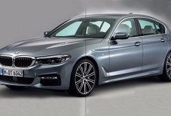 Filtrado el BMW Serie 5 2017: así es el hermano pequeño del Serie 7