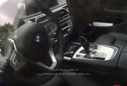 El interior del BMW Serie 5 2017 al descubierto poco antes de su presentación