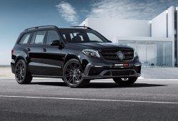 Brabus 850 XL: convirtiendo al Mercedes GLS en un SUV oscuro y radical