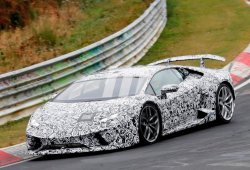 El Lamborghini Huracán Superleggera 2017 vuelve a posar en Nürburgring