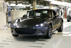 Mazda comienza la fabricación del MX-5 RF 2017