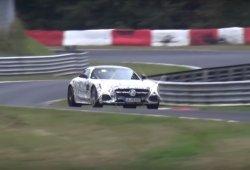 El Mercedes-AMG GT C coupe 2017 ya rueda en Nürburgring