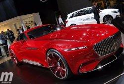 Vision Mercedes-Maybach 6, 750 CV de pura exclusividad deslumbra en París