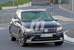 Volkswagen ya prueba el Tiguan R en Nürburgring