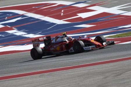 Los Ferrari, relegados a la tercera fila en Austin