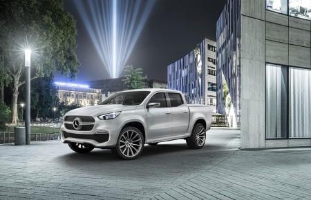Mercedes Clase X Concept: la marca de la estrella nos anticipa su nuevo pick-up