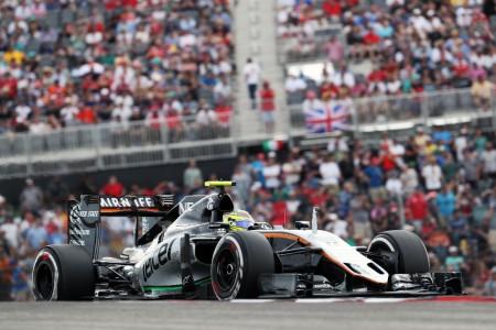 Pérez salva los muebles para Force India en Austin