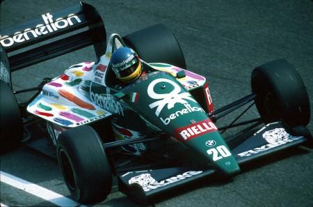 [Vídeo] 1986: Berger y Benetton dan la sorpresa en el regreso de la F1 a México