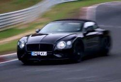 Vídeo: Mulas del Bentley Continental GT 2018 rodando en Nürburgring