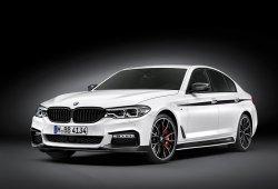 El BMW Serie 5 2017 ya puede ser vestido con el kit M Performance