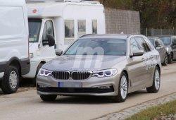 El BMW Serie 5 Touring 2017 última su desarrollo poco antes de su presentación