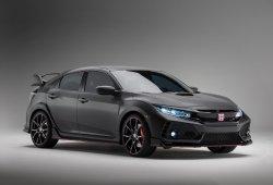 Cazado el Honda Civic Type-R 2017 en plena calle