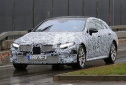 Mercedes CLE 2018: cazado por primera vez el sucesor del Clase CLS