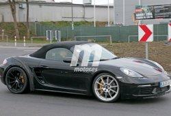 Porsche 718 Boxster GTS, dentro de muy poco entre nosotros