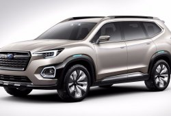 Subaru VIZIV-7 Concept: anticipo de un nuevo SUV de 7 plazas para Estados Unidos