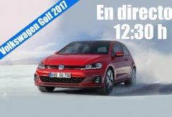Volkswagen Golf 2017: sigue en directo con nosotros la presentación del restyling