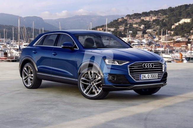 Audi Q3 2019 - recreación