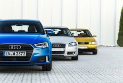Audi A3: dos décadas y tres generaciones de éxitos para el compacto alemán