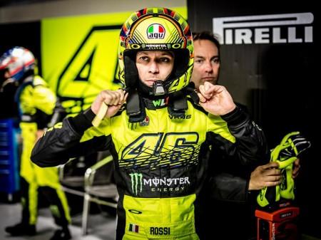 Valentino Rossi, primer líder del Monza Rally Show