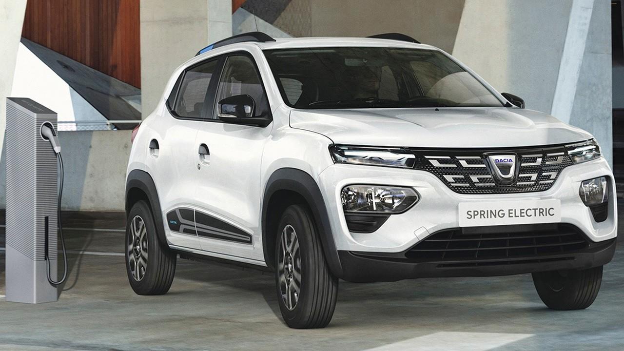 Dacia Spring car sharing