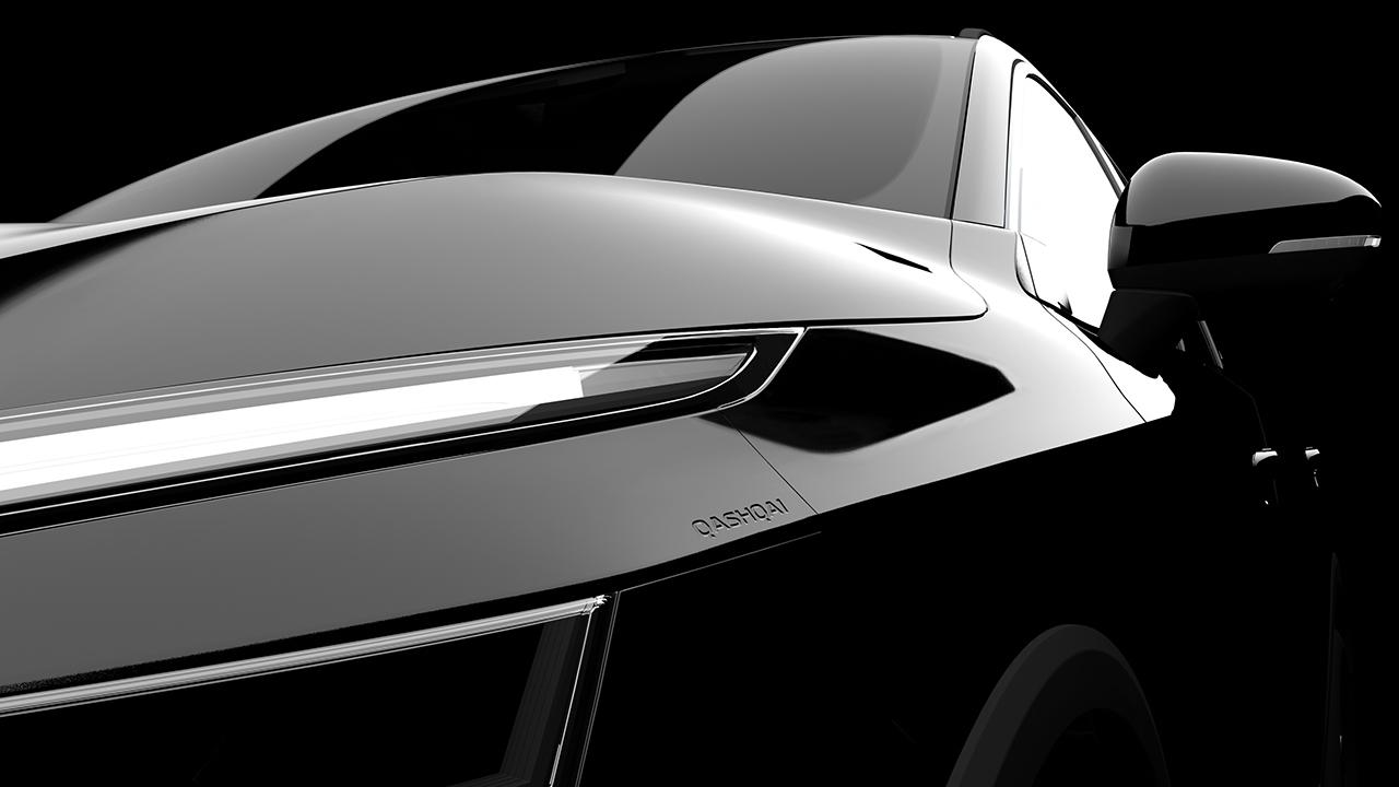 Nissan Qashqai 2021 - teaser