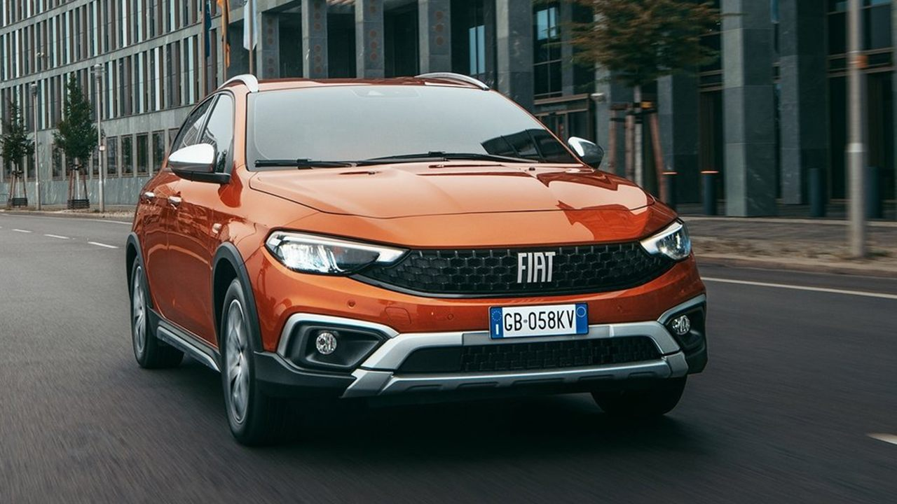 FIAT Tipo Cross - frontal