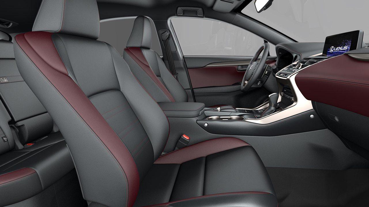Lexus NX 300h 2021 - interior