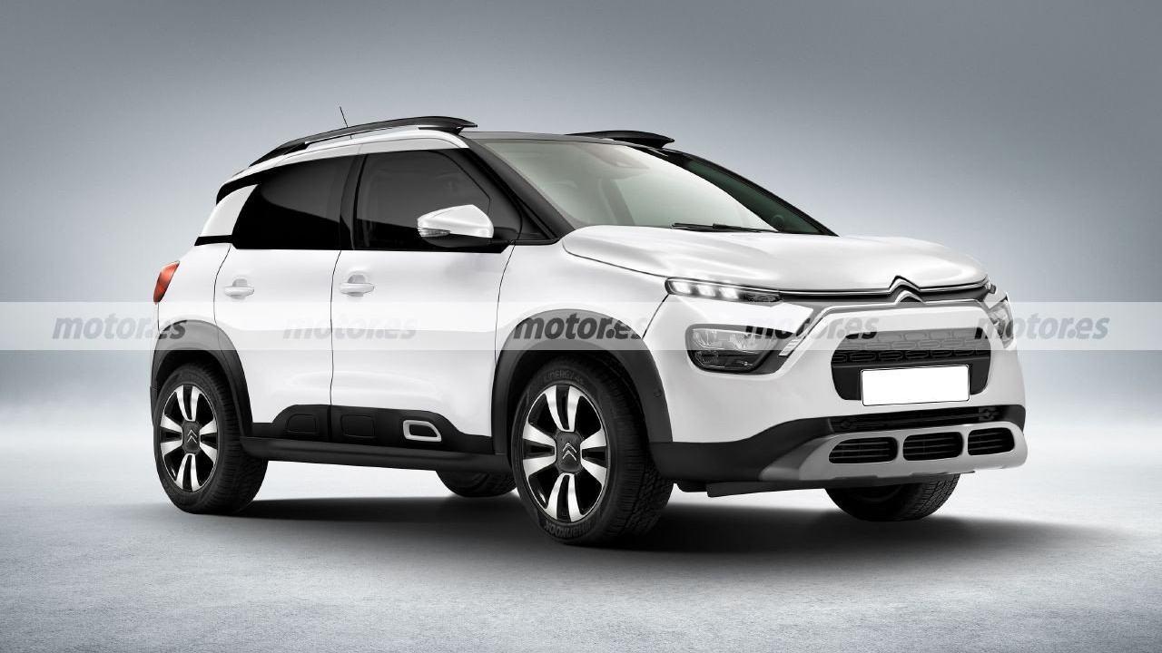Recreación del Citroën C3 Aircross 2021
