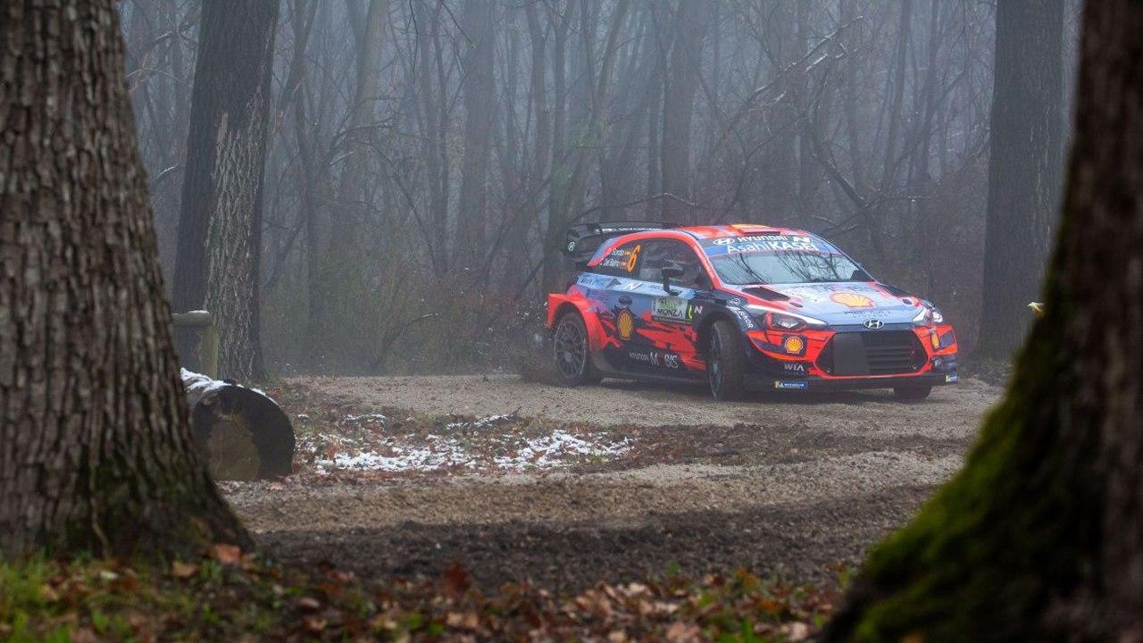 Esapekka Lappi, líder del Rally de Monza en la matinal del viernes
