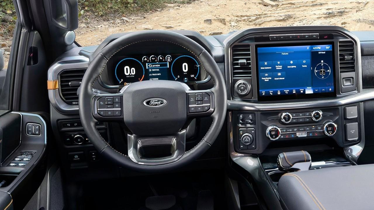 Ford F-150 Tremor 2021 - interior