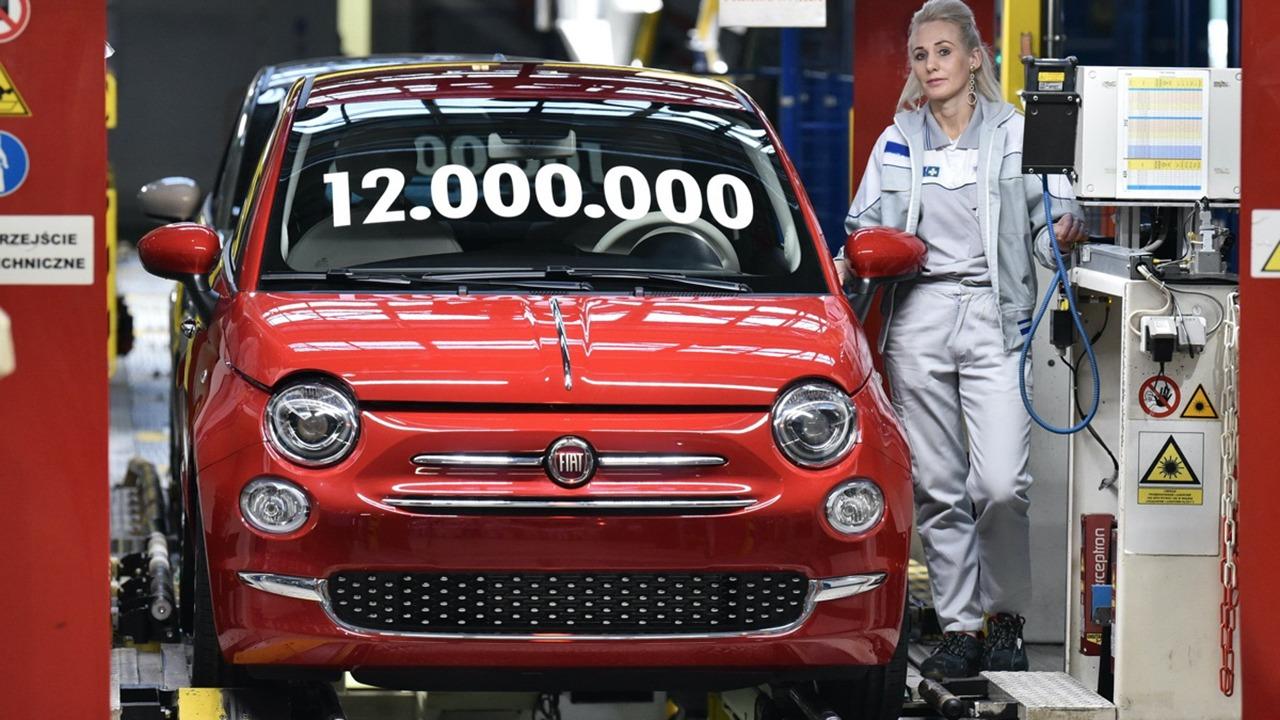 Producción del FIAT 500 en Polonia
