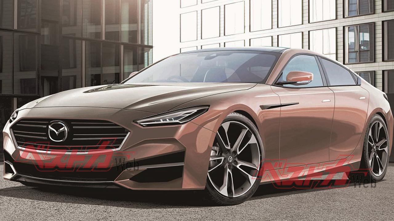 Recreación del Mazda6