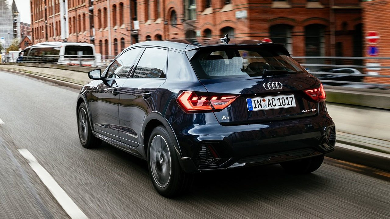 Audi A1 Citycarver - posterior