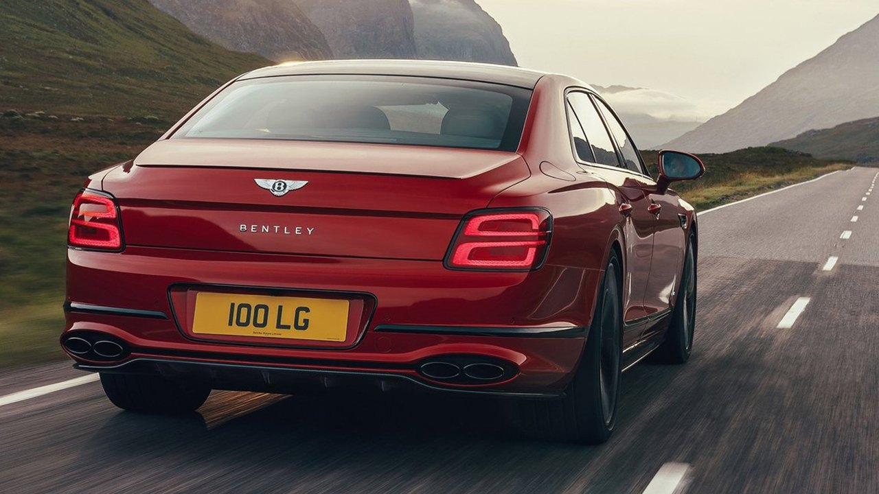 Bentley Flying Spur V8 2021 - posterior
