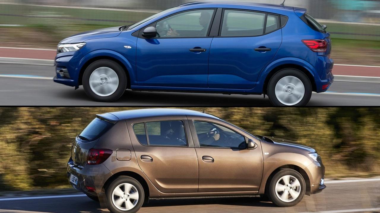 Dacia Sandero 2021 vs Dacia Sandero 2020