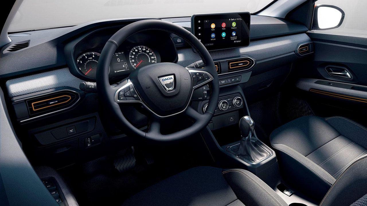 Dacia Sandero Stepway CVT - interior