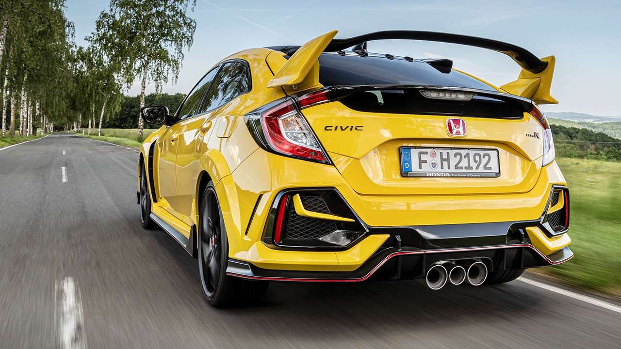 Honda Civic Type R Limited Edition - posterior