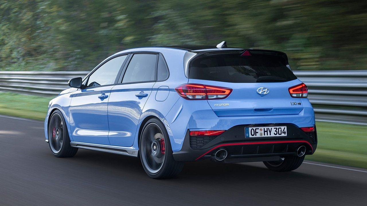 Hyundai i30 N 2021 - posterior