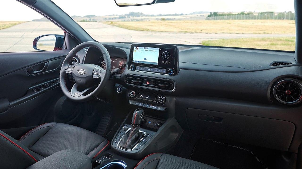 Hyundai Kona N Line - interior