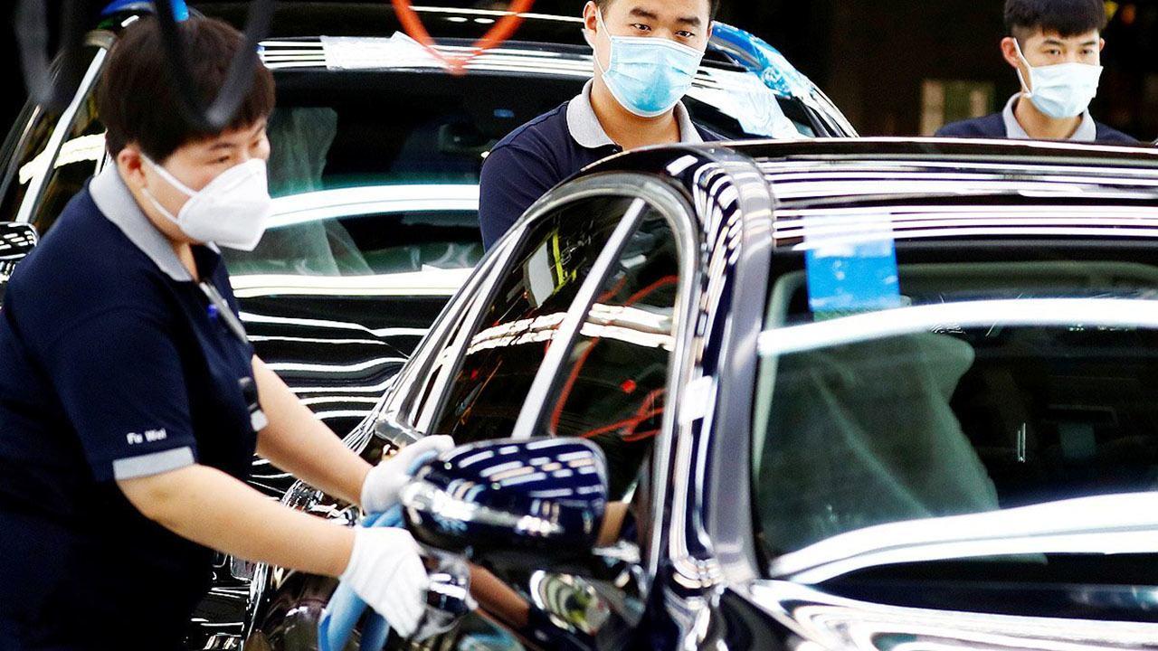 Ventas de coches en China en noviembre de 2020