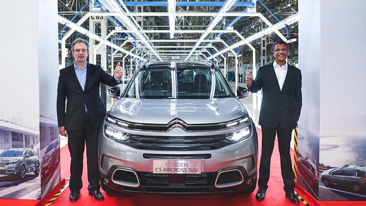 Citroën C5 Aircross - producción en la India