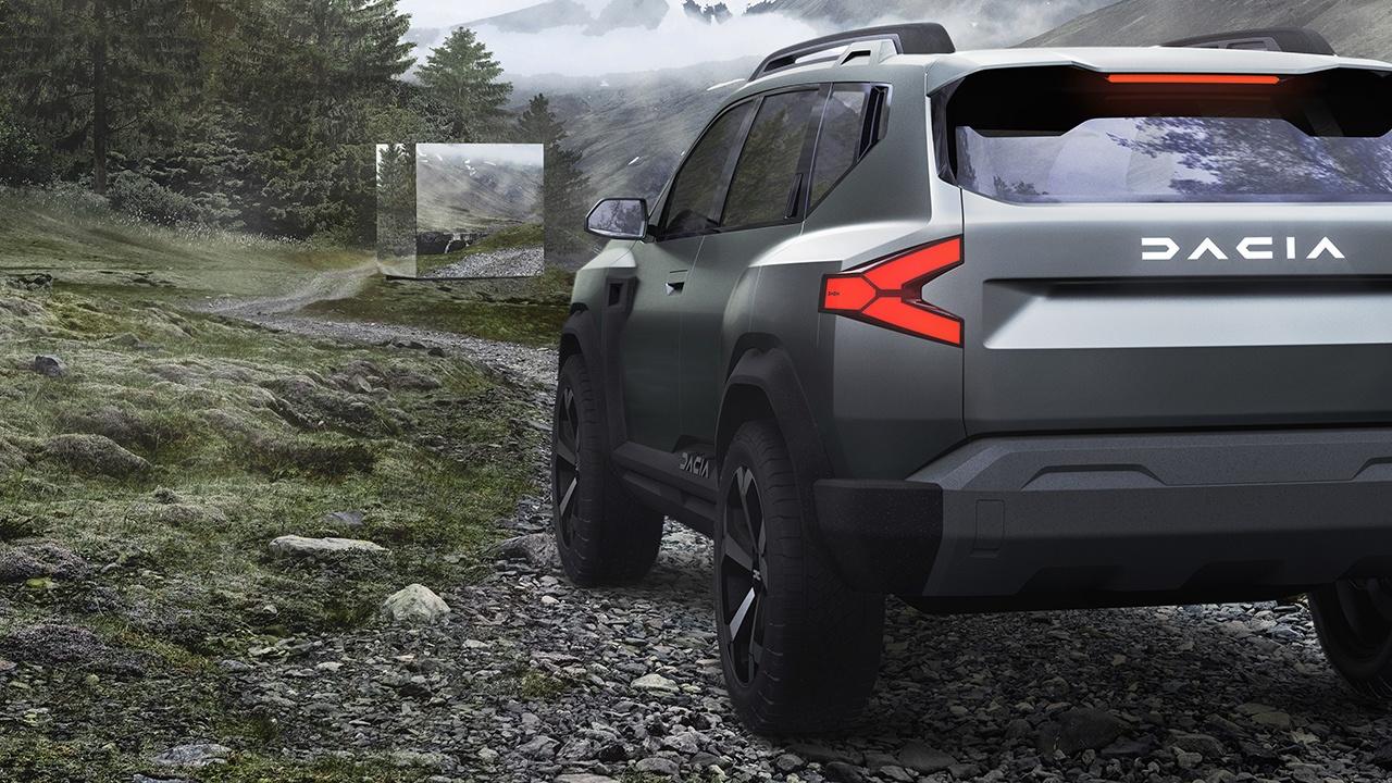 Dacia Bigster Concept - posterior