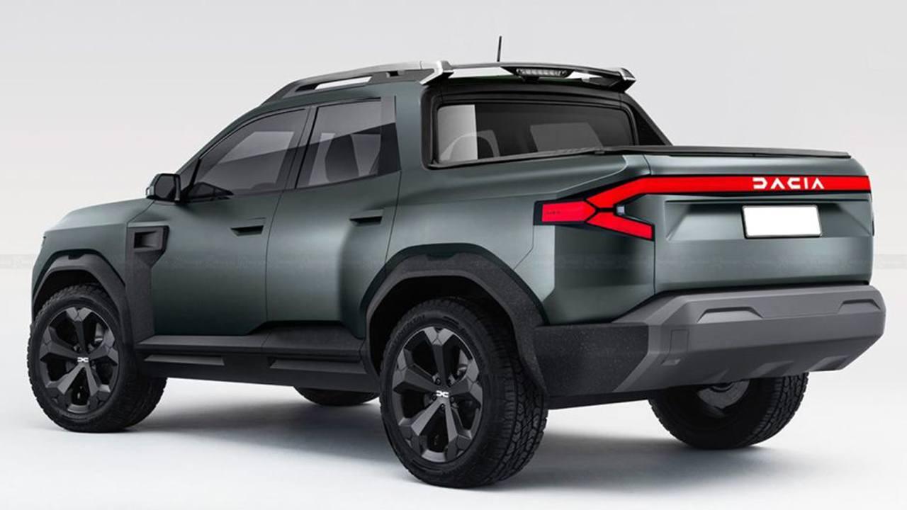 Recreación del Dacia Bigster Pick-up