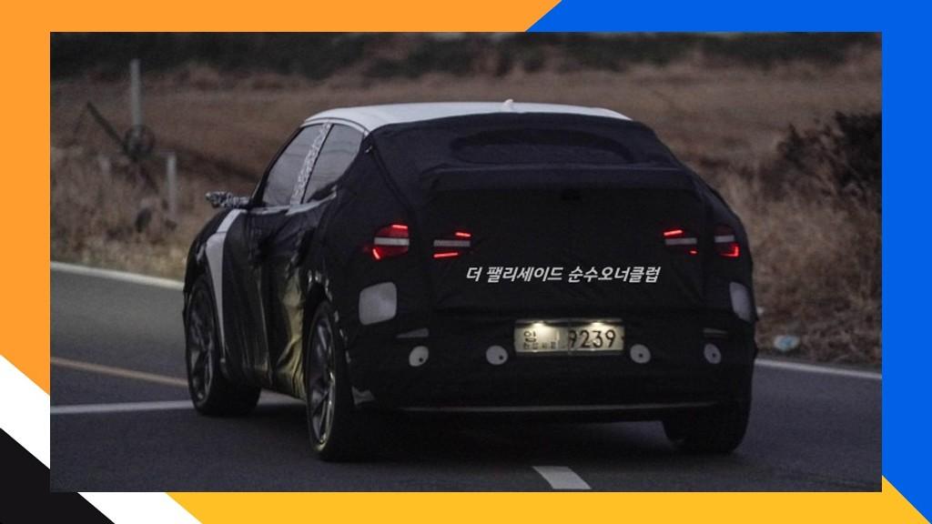 Foto espía Genesis JW 2022 en Corea del Sur - exterior