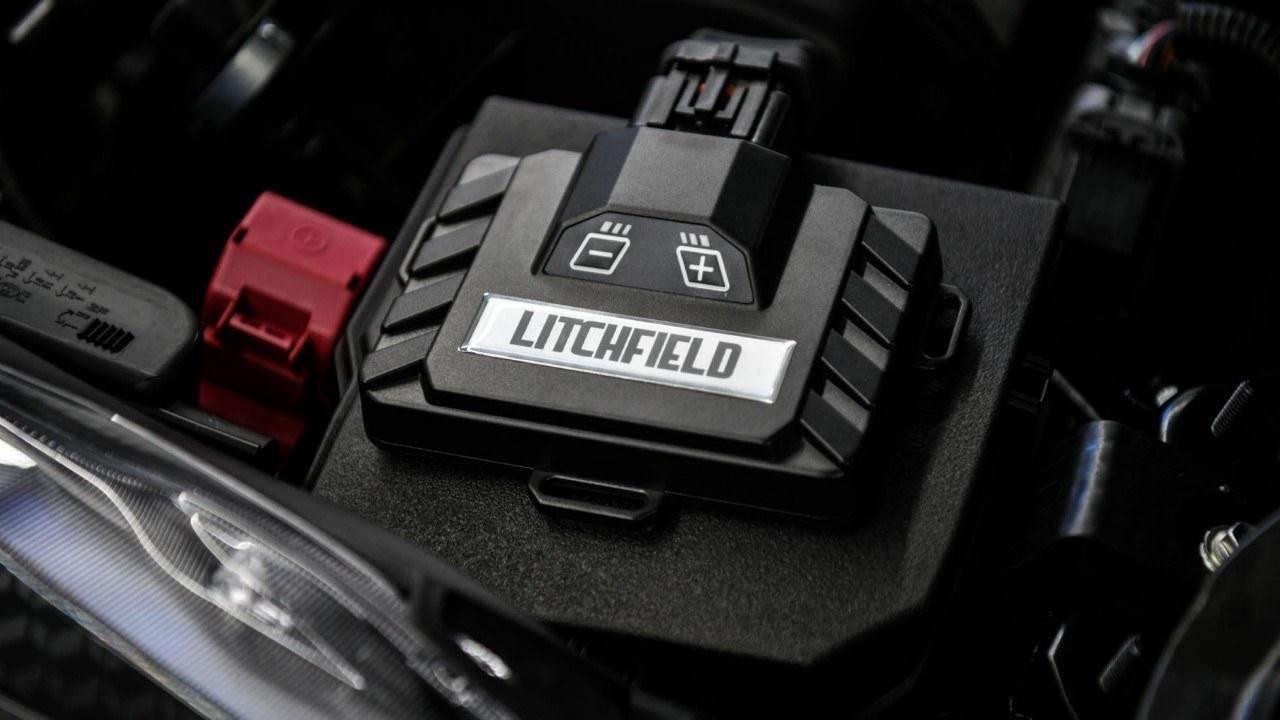 Detalle de la ECU de Litchfield para el Toyota GR Yaris