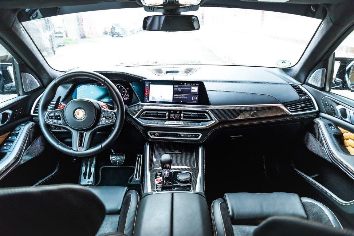 Foto MANHART MHX5 800 - interior