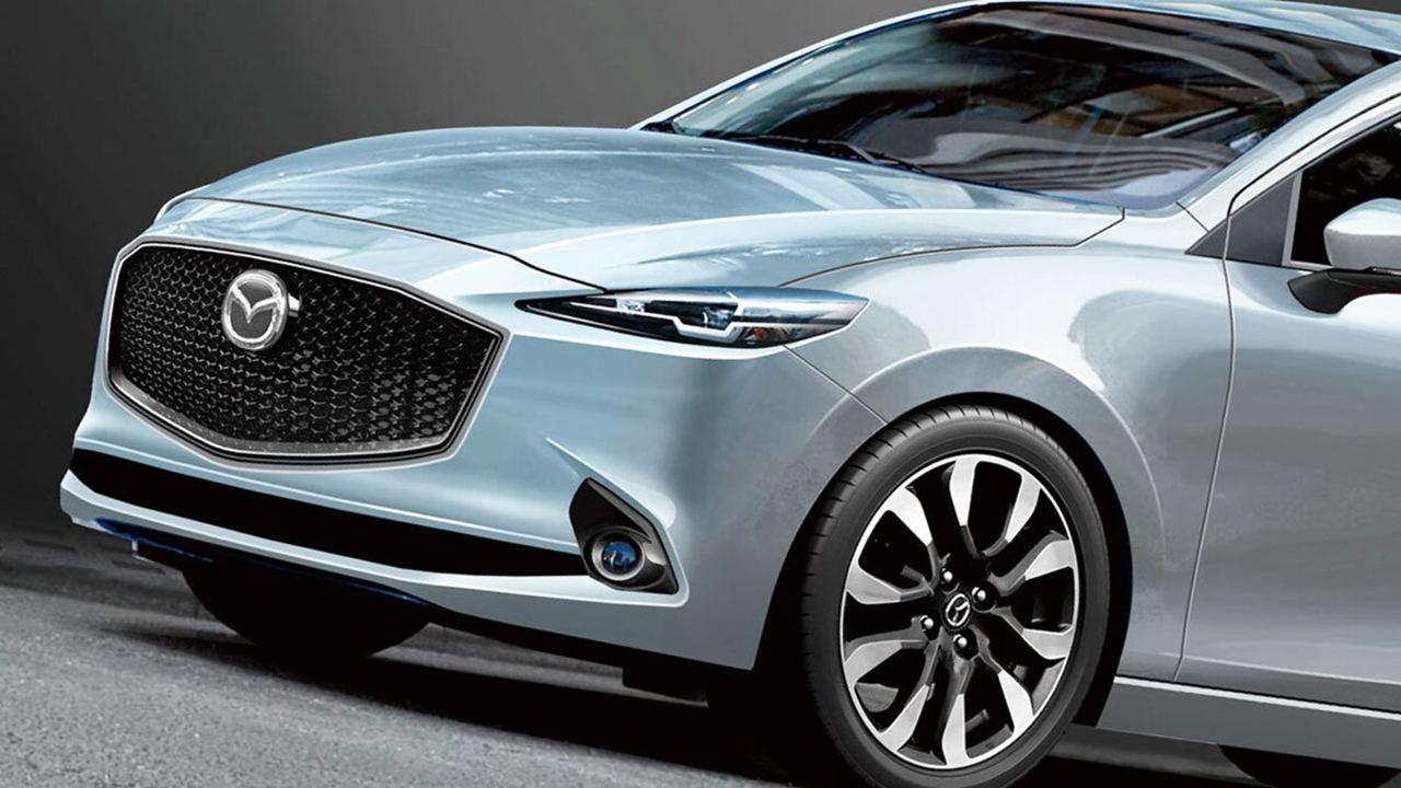 Recreación del Mazda2 de quinta generación