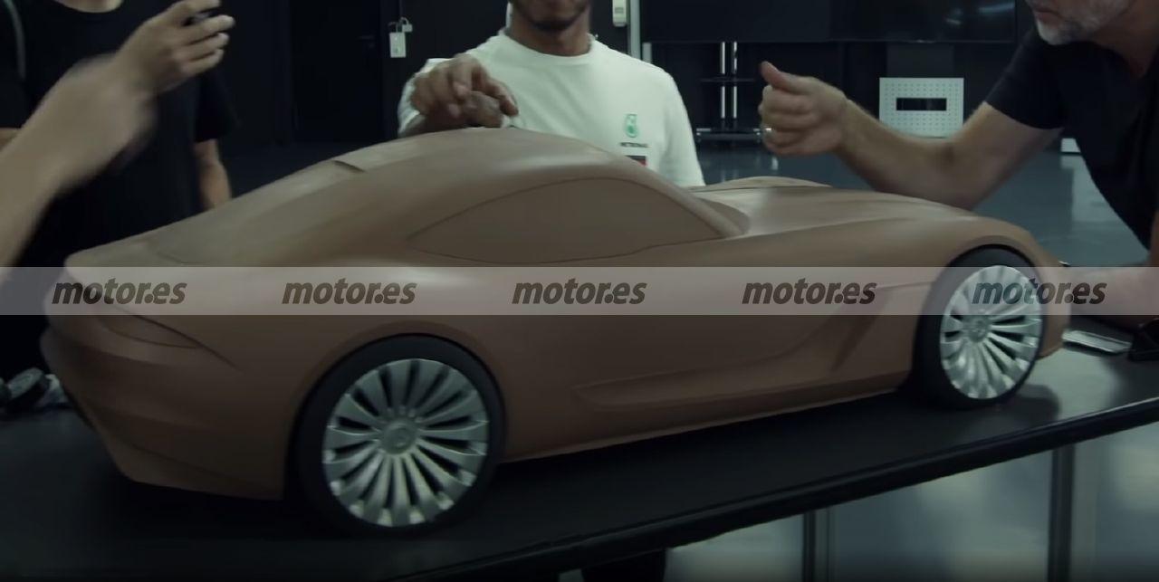 Teaser del futuro Mercedes-AMG GT 2022