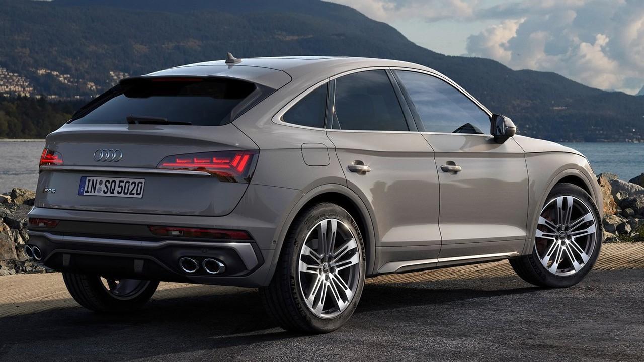 Audi SQ5 Sportback - rear